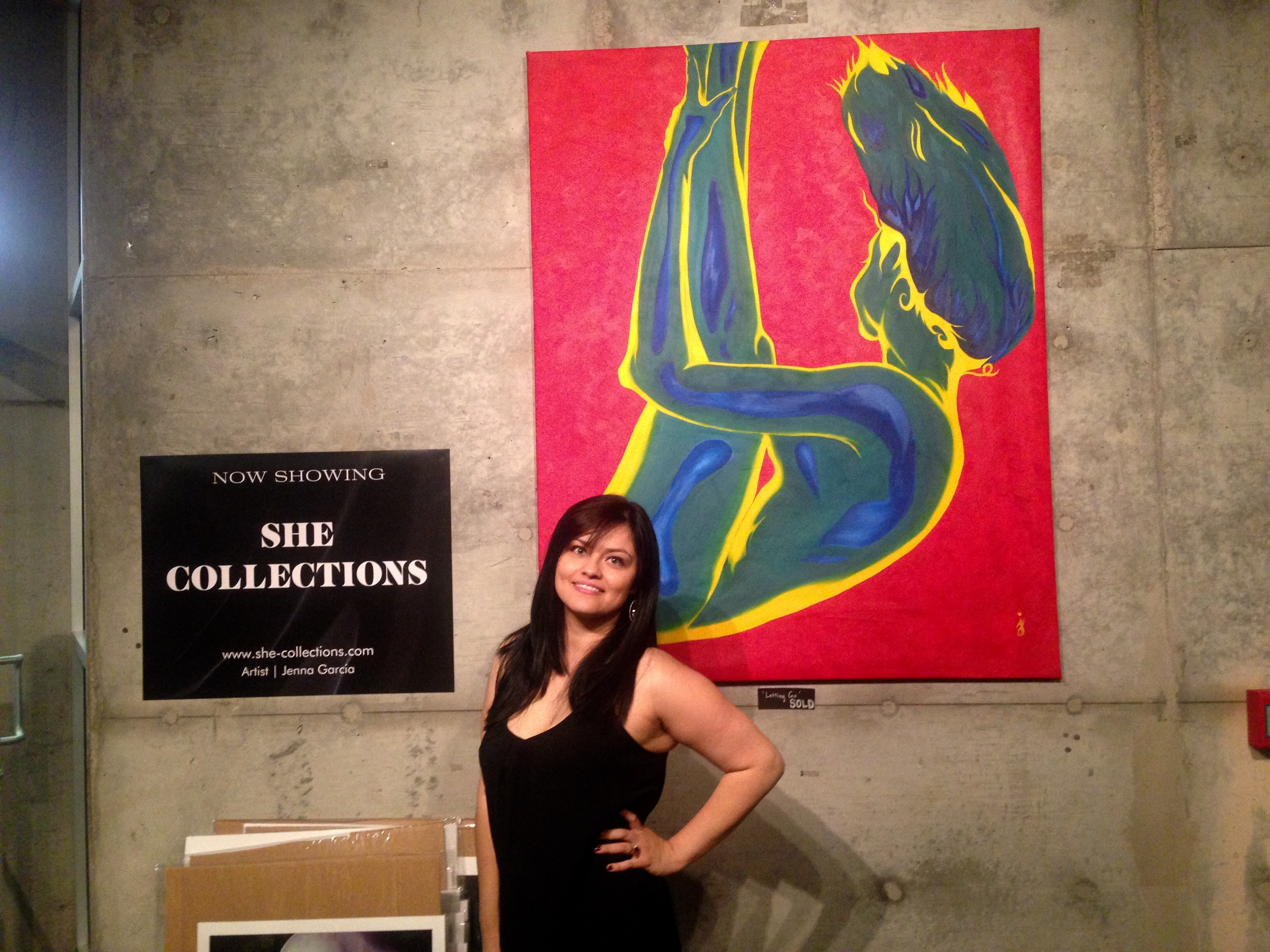 Artist Jenna She Collections- Colors of Yoga