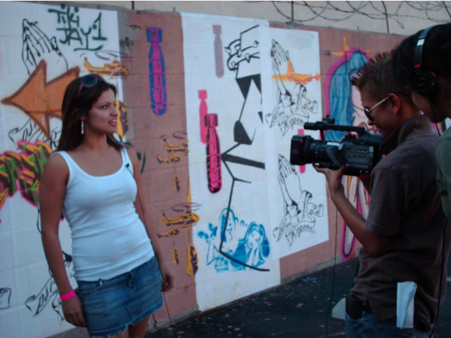 Being Interviewed about my art