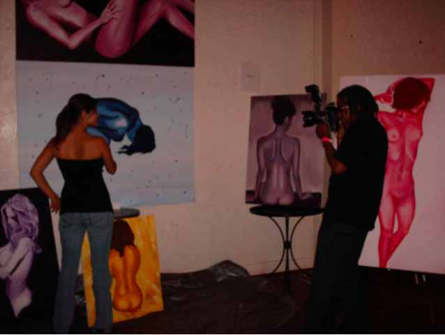 Interview at Art EXPO in CA