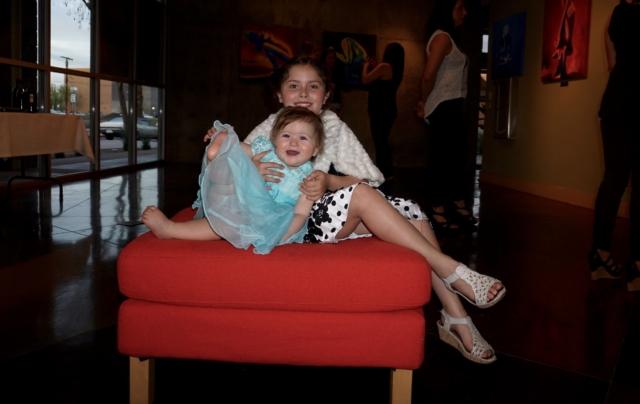 Jenna's children- colors of yoga opening night 2016