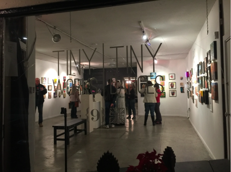 {9} Galley group show Tiny Works|Tiny Dances