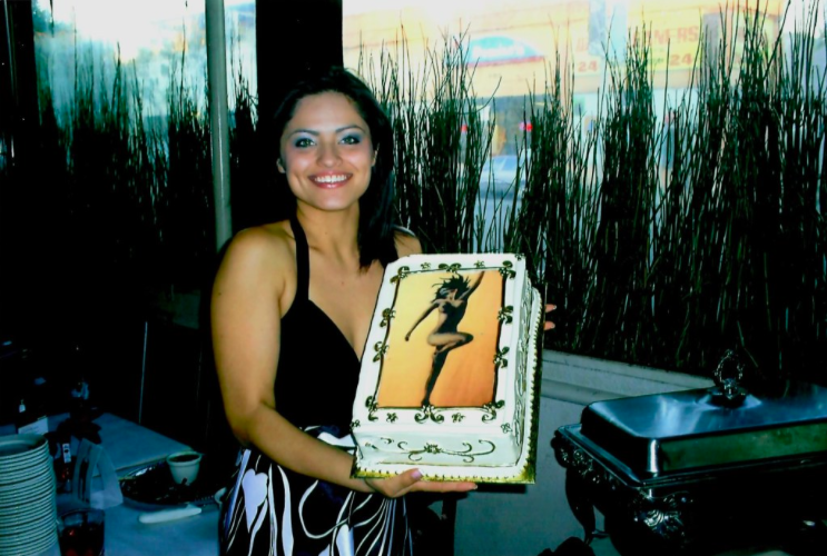Artist Jenna Garcia solo event She Collections at Marks Restaurant