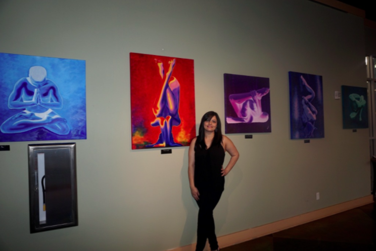 Jenna Garcia She Collections solo show at Skyline Gallery