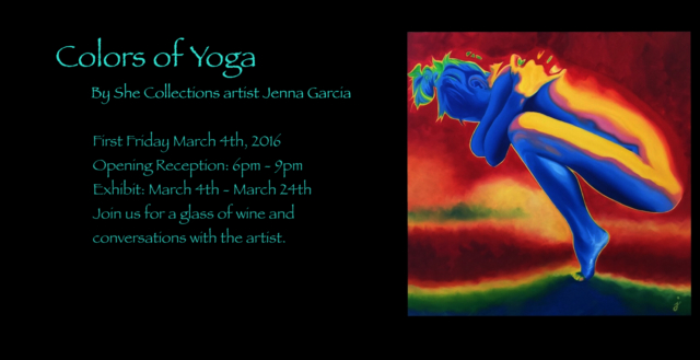 event flyer Colors Of Yoga