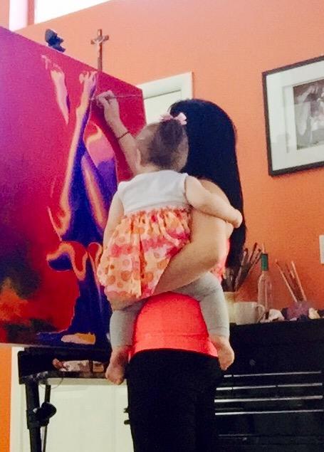 Artist Mommy Jenna Garcia