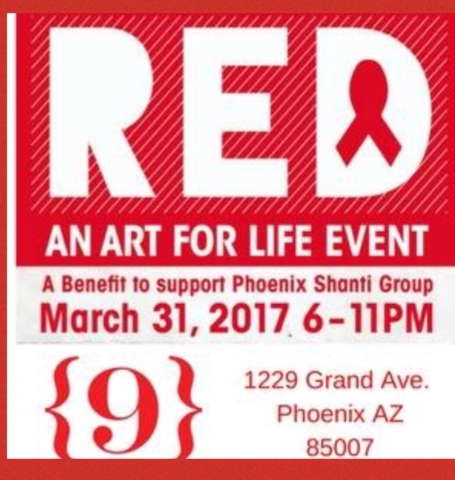 Red Art for Life event