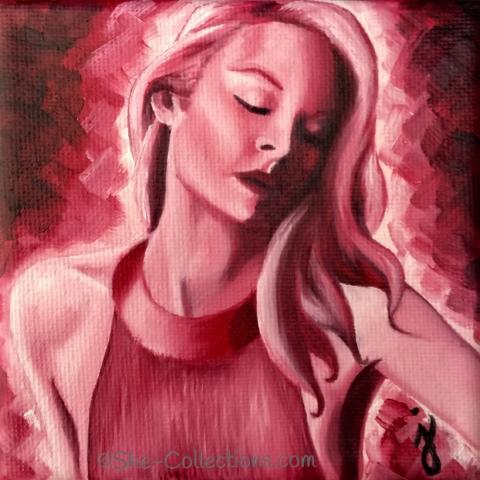 Christine by artist Jenna Garcia