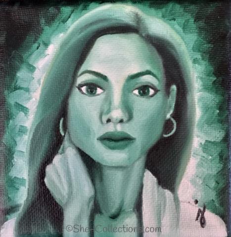 Nina by artist Jenna Garcia