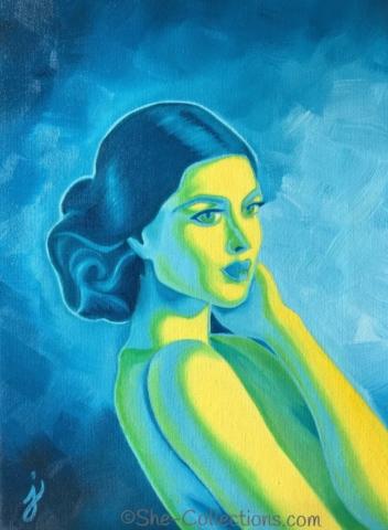 Marie by artist Jenna Garcia